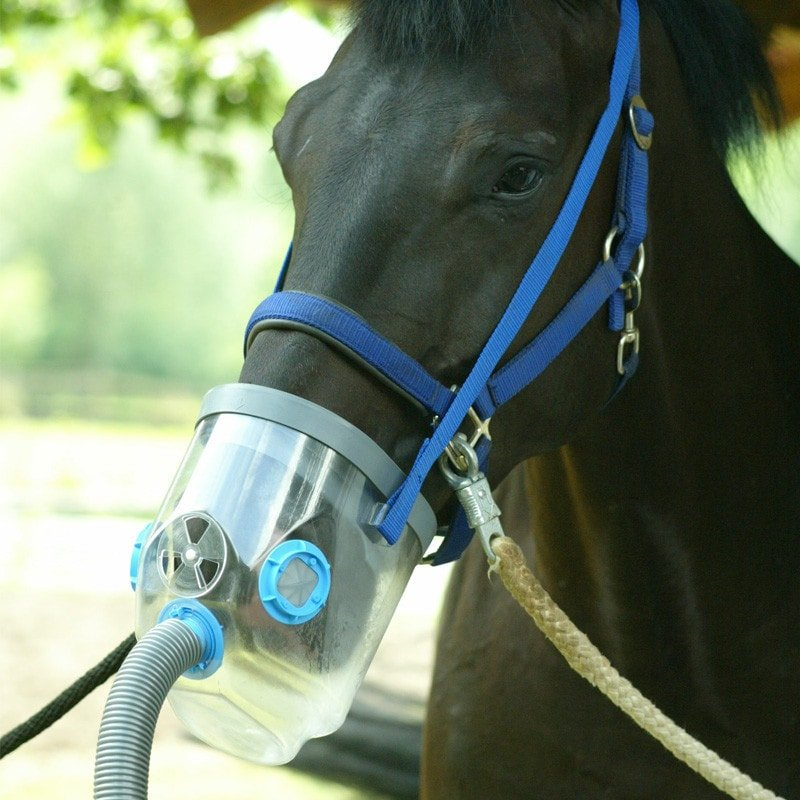 Air-one - de inhalator voor paarden