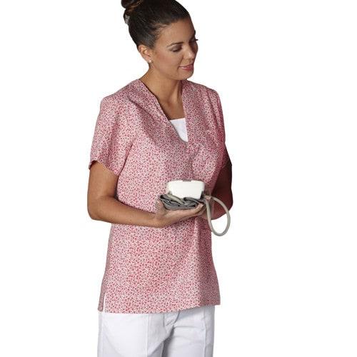 OK-shirt met bloemenprint