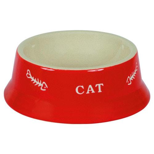 Keramische voerbak 'CAT'