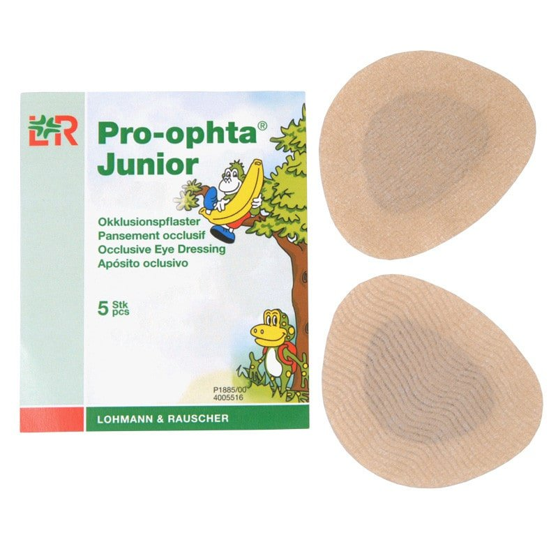 Pro-ophta Junior occlusiepleister