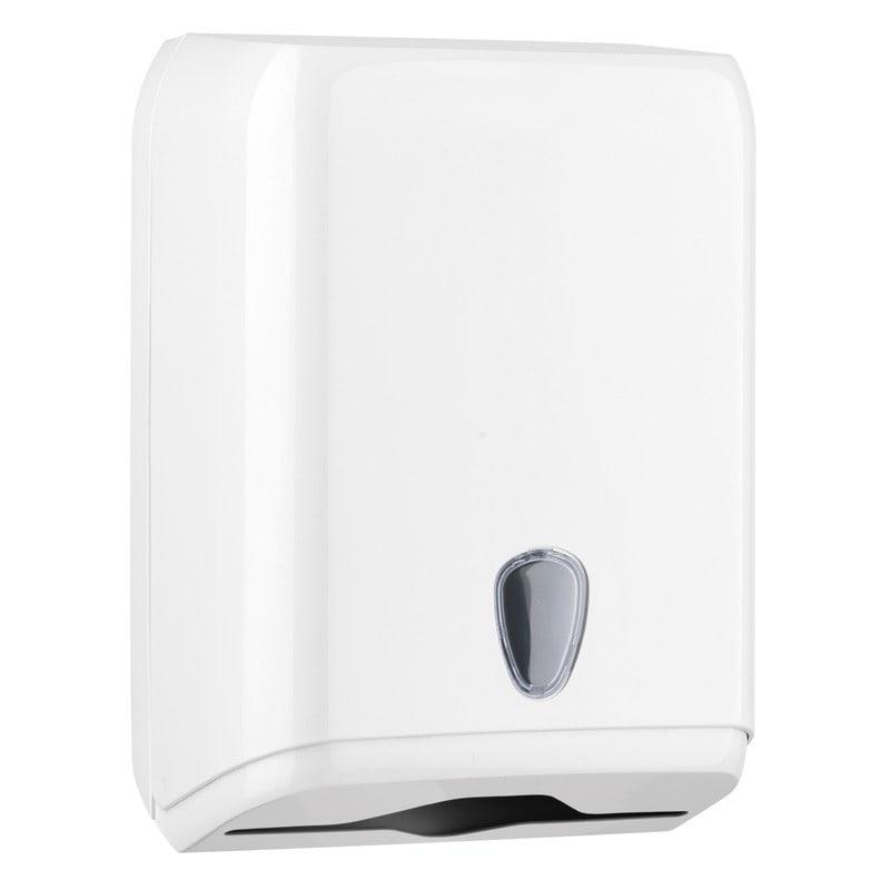 Marplast dispenser voor handdoeken met C-, V- en Z-vouw