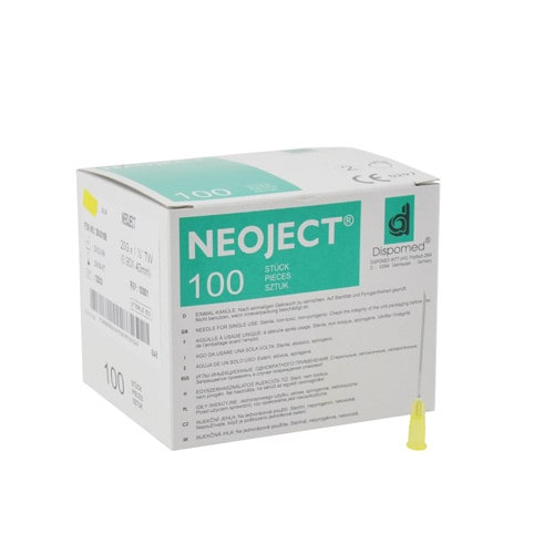 Neoject ultradunne naalden