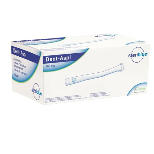 Dent-Aspi wegwerp-afzuigcanules, 100 stuks