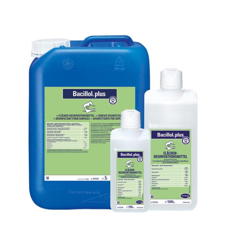 Bacillol plus, oppervlakdesinfectie