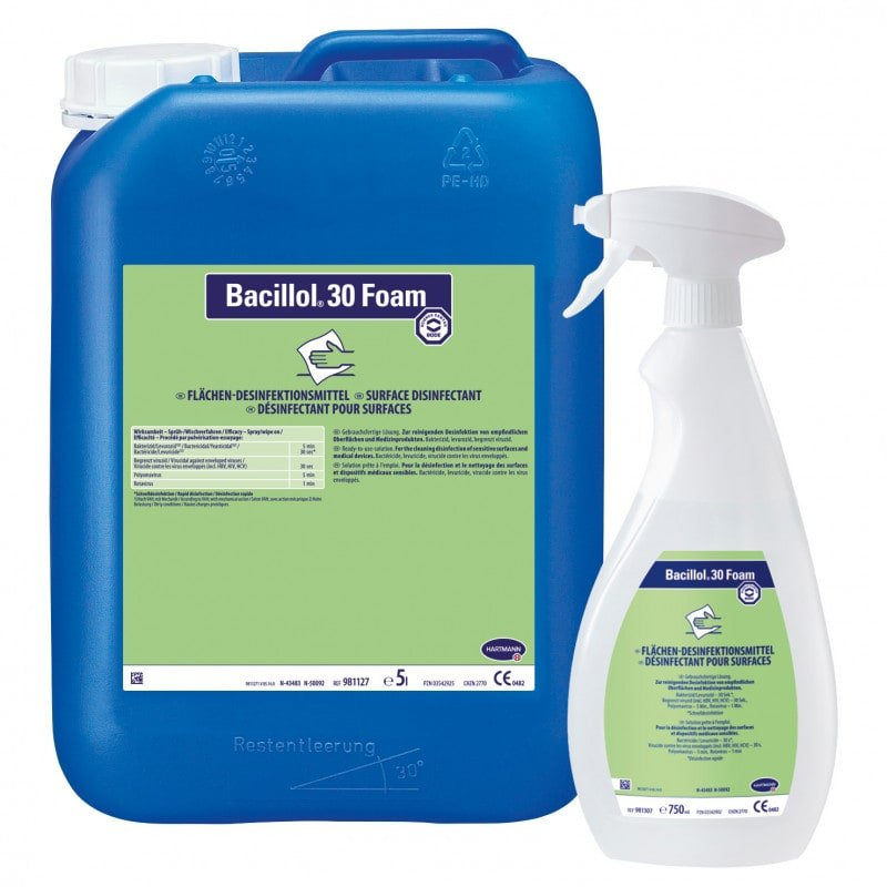 Bacillol® 30 Foam oppervlakdesinfectiemiddel