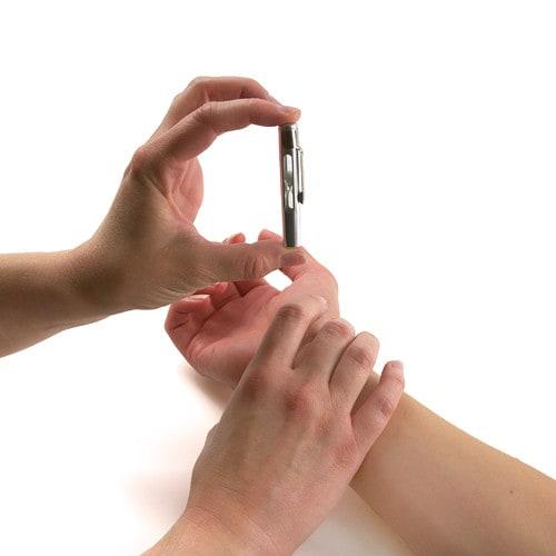 Hartslagmonitor voor verpleegsters, met zand gevuld
