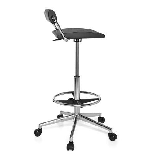 Werkstoel met lumbale lendensteun