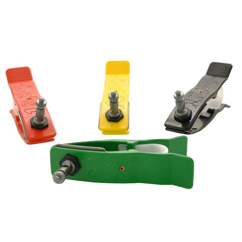 Set met 4 klemelektroden voor de ledematen