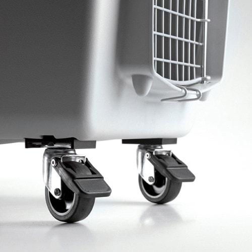 Set wielen voor de hondentransportbox