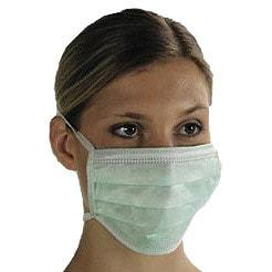 Chirurgisch masker, drie lagen