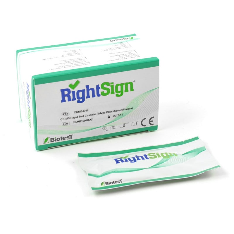 Right Sign CK-MB-test