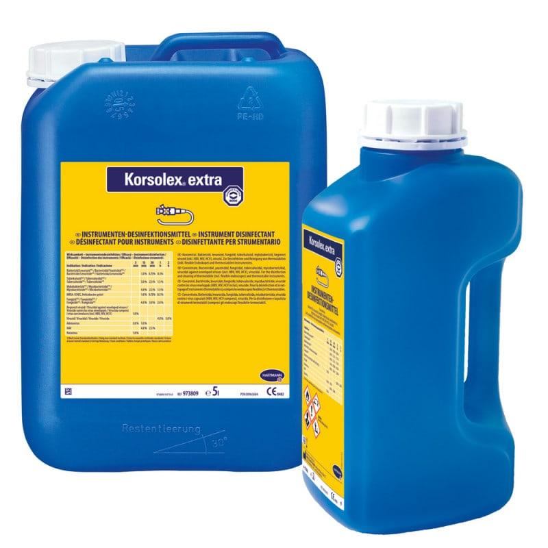 Korsolex extra, endoscoop- en instrumentendesinfectie