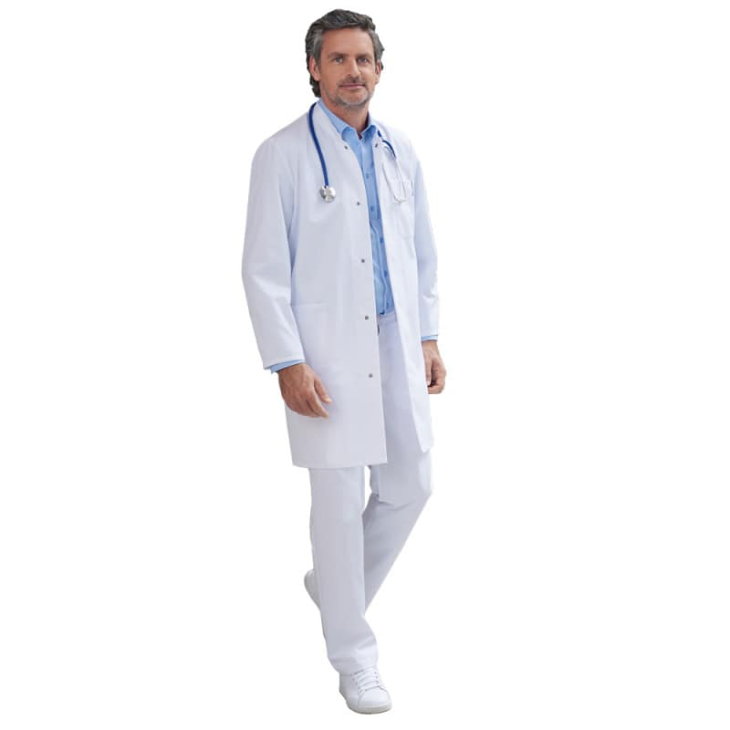 Doktersjas voor hem en voor haar