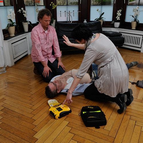 Lifeline VIEW defibrillator