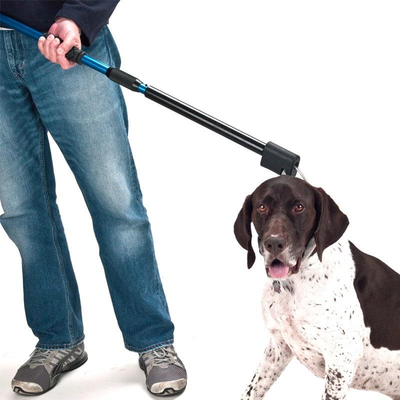 Automatische hondenvangstok