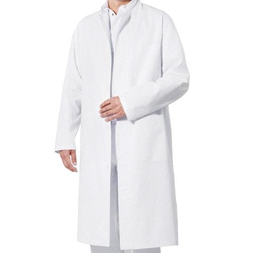 Doktersjas met staande kraag