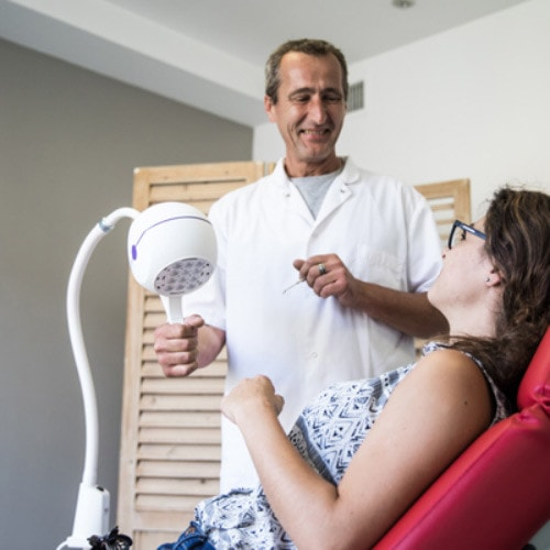 Led-behandelingslamp «Bella» van 17 Watt