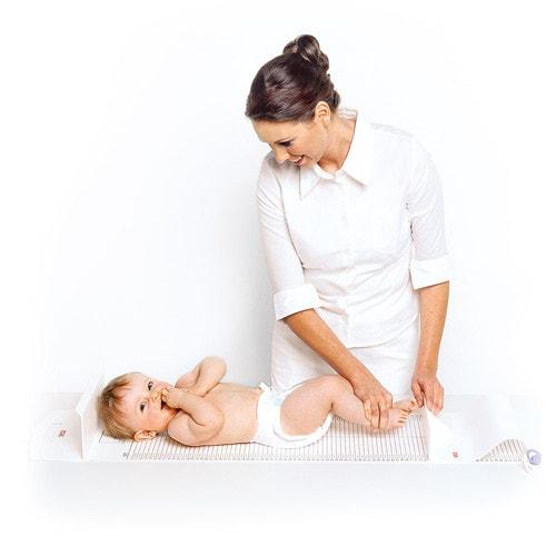 Meetmat voor babies en kleine kinderen