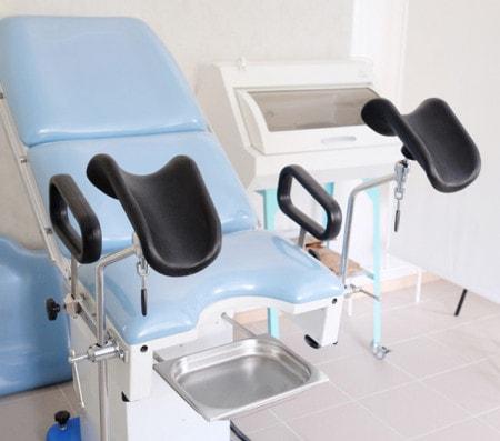 Gynaecologische stoelen