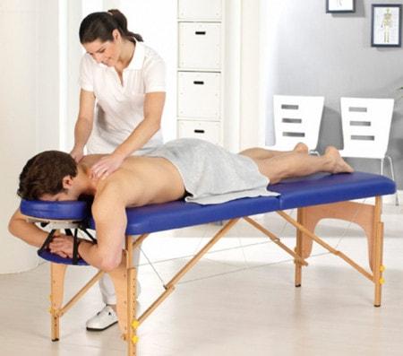 Massagetafels en -stoelen