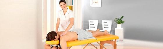 Massage- en behandeltafels