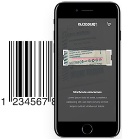 App met barcode
