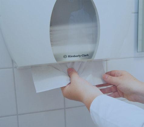 Handdoek-dispensers
