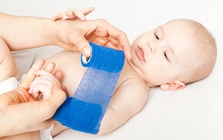 Pediatrisch verbandmateriaal