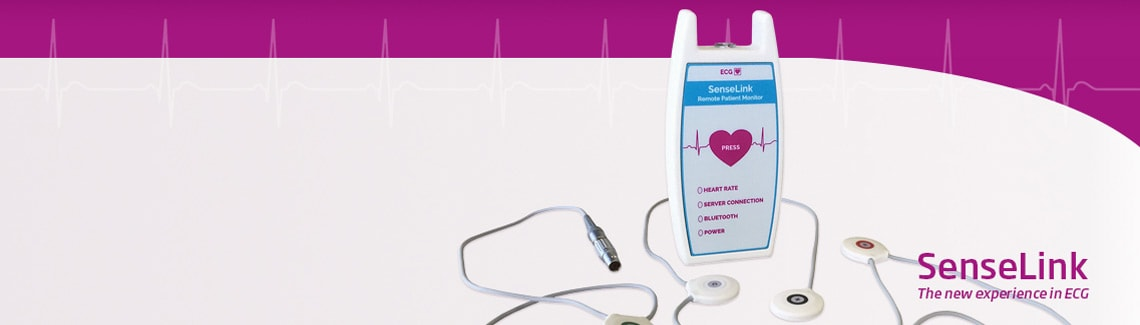 SenseLink Holter-ECG-apparaat